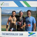 ThThree happy chaps after the Cape Ultra