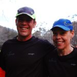 Happy couple at the end of the Villiersdorp Parkrun