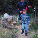 Little boy on Villiersdorp Parkrun