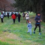 Coming to the end of the Villiersdorp Parkrun